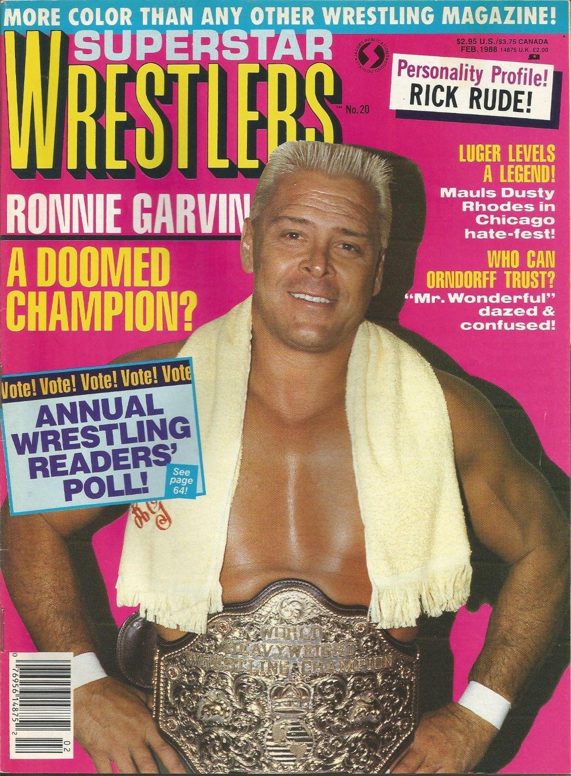 Superstar Wrestlers - February 1988