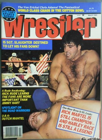 The Wrestler - March 1985