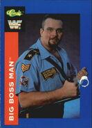 1991 WWF Classic Superstars Cards Big Boss Man 125