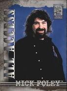 2002 WWF All Access (Fleer) Mick Foley 32