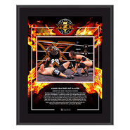 Adam Cole NXT Takeover XXX 2020 10x13 Commemorative Plaque