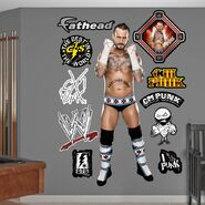 CM Punk 54 x 80 Fathead