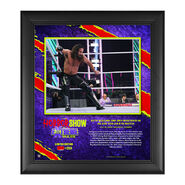 Seth Rollins The Horror Show At Extreme Rules 2020 15x17 Commemorative Limited Edition Plaque