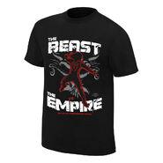 WrestleMania 34 Roman Reigns vs. Brock Lesnar Match T-Shirt