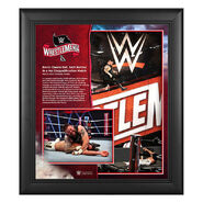 WrestleMania 36 Kevin Owens 15 x 17 Limited Edition Plaque
