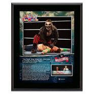 WrestleMania 36 The Fiend Bray Wyatt 10 x 13 Limited Edition Plaque