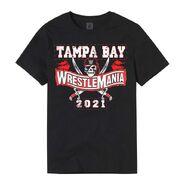WrestleMania 37 Sports Style Black T-Shirt