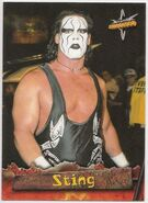 1999 WCW Embossed (Topps) Sting 22
