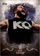2016 Topps WWE Undisputed Wrestling Cards Kevin Owens 18