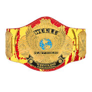 Hulk Hogan Hulkamania Signature Series Championship Replica Title