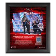 Roman Reigns WrestleMania Backlash 2021 15x17 Commemorative Plaque