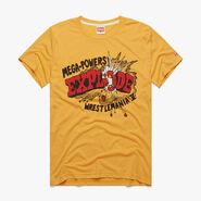 WrestleMania V Mega-Powers Explode Homage T-Shirt