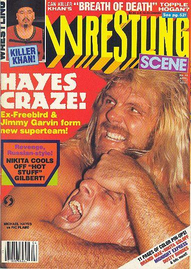 Wrestling Scene - April 1988