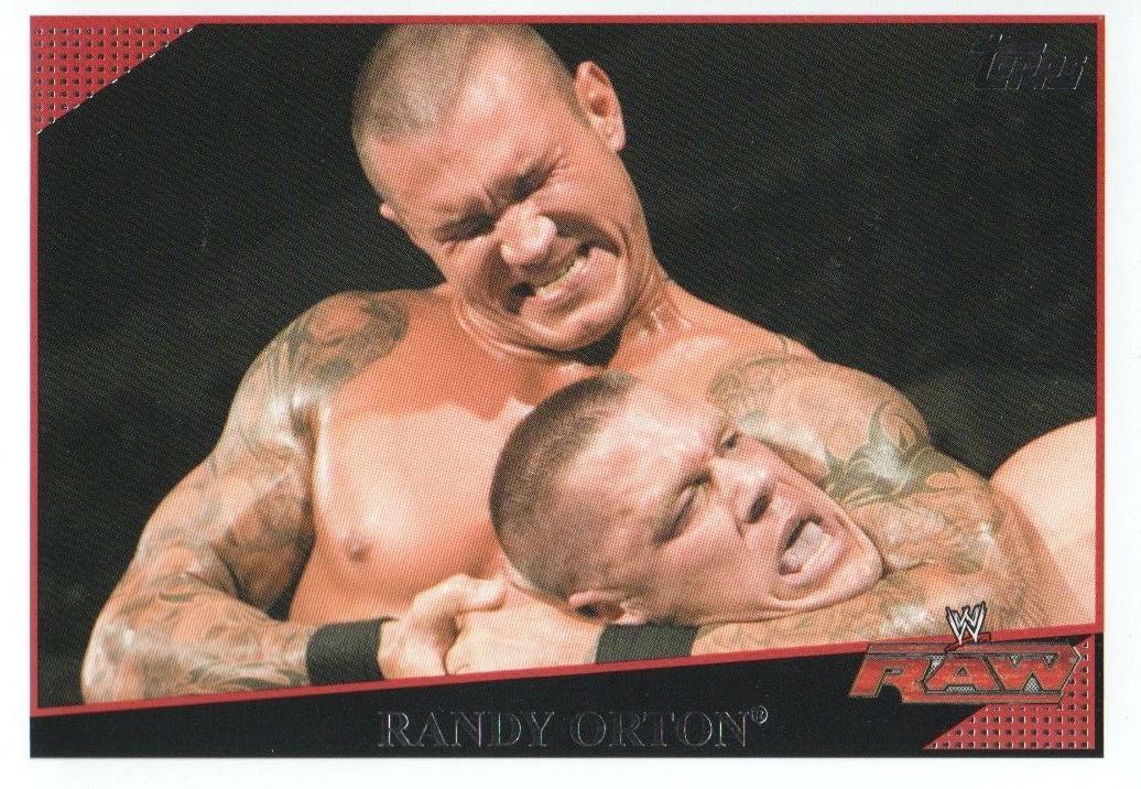 2009 WWE (Topps) Randy Orton (No.20)