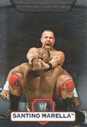 2010 WWE Platinum Trading Cards Santino Marella 112
