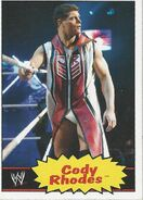 2012 WWE Heritage Trading Cards Cody Rhodes 13