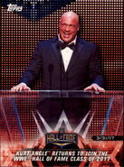 2018 WWE Road to Wrestlemania Trading Cards (Topps) Kurt Angle 23