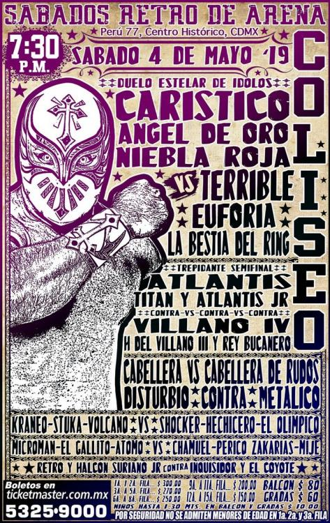 CMLL Sabados De Coliseo (May 4, 2019)