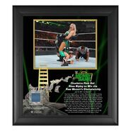 Charlotte Flair Money In The Bank 15x17 Commemorative Plaque