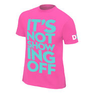 Dolph Ziggler It's Not Showing Off Retro T-Shirt