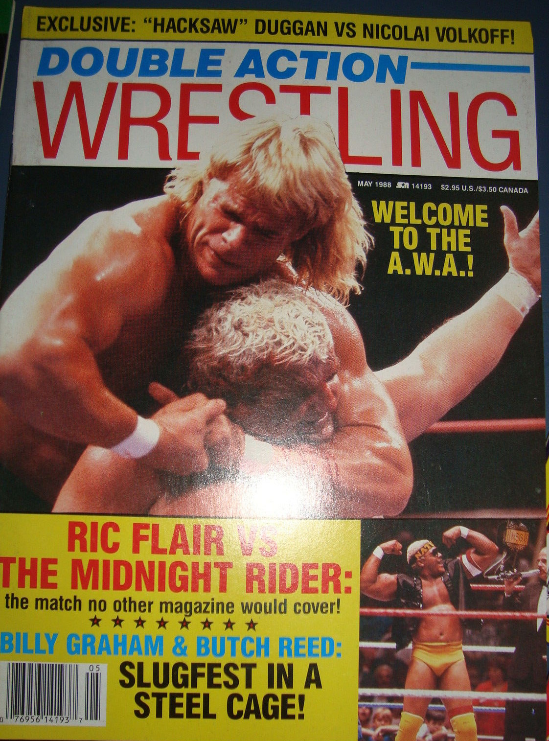 Double Action Wrestling - May 1988