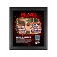 Sami Zayn Hell in A Cell 2021 15 x 17 Commemorative Plaque
