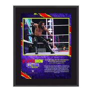 Seth Rollins The Horror Show At Extreme Rules 2020 10x13 Commemorative Plaque