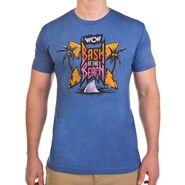 WCW Bash At The Beach Old School Logo T-Shirt