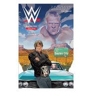 WWE Volume 2 Lunatic Fringe Comic Book