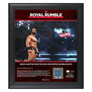 Drew McIntyre Royal Rumble 2020 15x17 Limited Edition Plaque