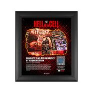 Rhea Ripley Hell in A Cell 2021 15 x 17 Commemorative Plaque