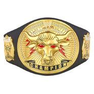The Rock Brahma Bull Replica Championship Title Belt