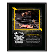 Aleister Black NXT TakeOver Chicago 10 x 13 Plaque