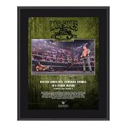 Dexter Lumis NXT TakeOver WarGames 2020 10 x 13 Commemorative Plaque