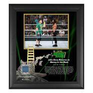John Cena & Roman Reigns Money In The Bank 15x17 Commemorative Plaque