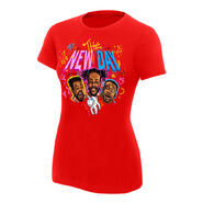 The New Day Unicorn Balloon Women's Authentic T-Shirt