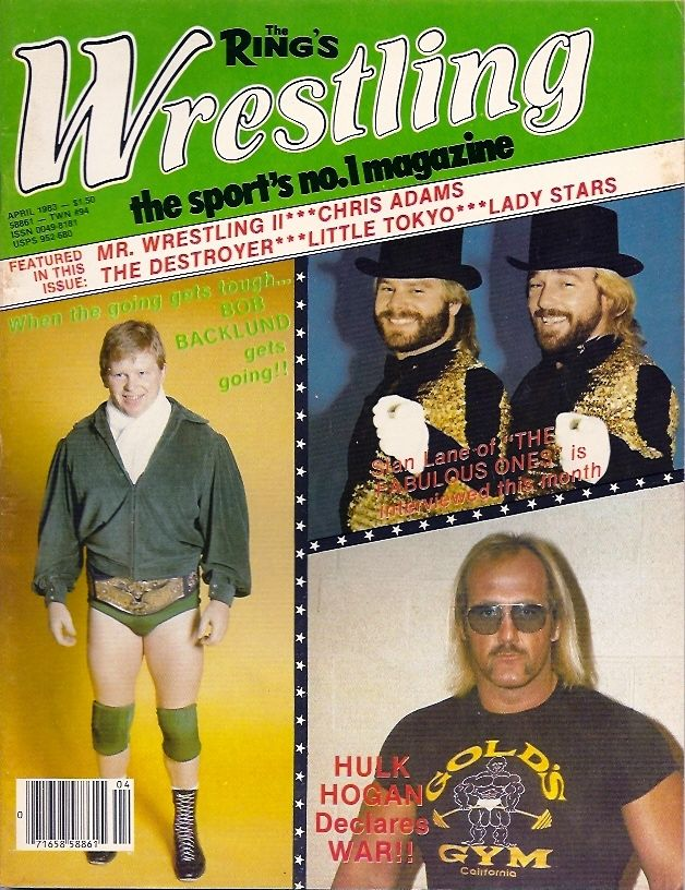 The Ring Wrestling - April 1983