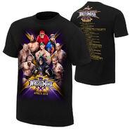 WrestleMania 30 Commemorative Event T-Shirt