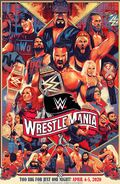 WrestleMania 36 Limited Edition Art Print