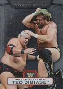2010 WWE Platinum Trading Cards Million Dollar Man Ted DiBiase 116