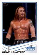 2013 WWE (Topps) Heath Slater 57