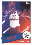 2015 WWE Heritage Wrestling Cards (Topps) R-Truth 84