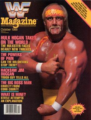 WWF Magazine - October 1988