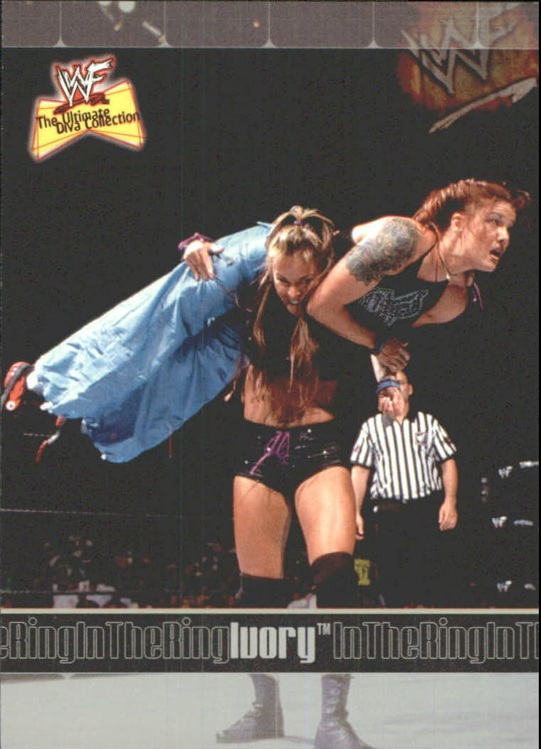 2001 WWF The Ultimate Diva Collection (Fleer) Ivory (No.78)