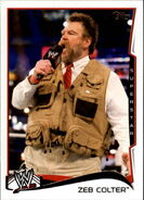 2014 WWE (Topps) Zeb Colter 53