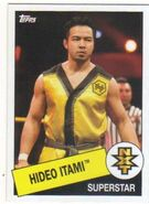 2015 WWE Heritage Wrestling Cards (Topps) Hideo Itami 106