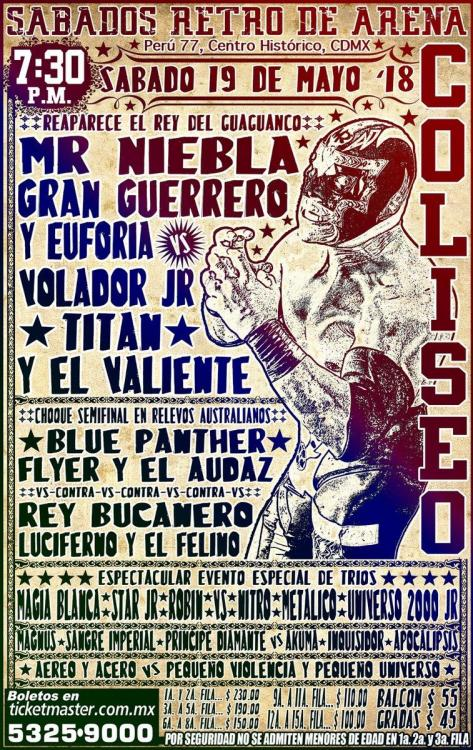 CMLL Sabados De Coliseo (May 19, 2018)