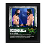 Drew McIntyre Money In The Bank 2020 15 x 17 Limited Edition Plaque