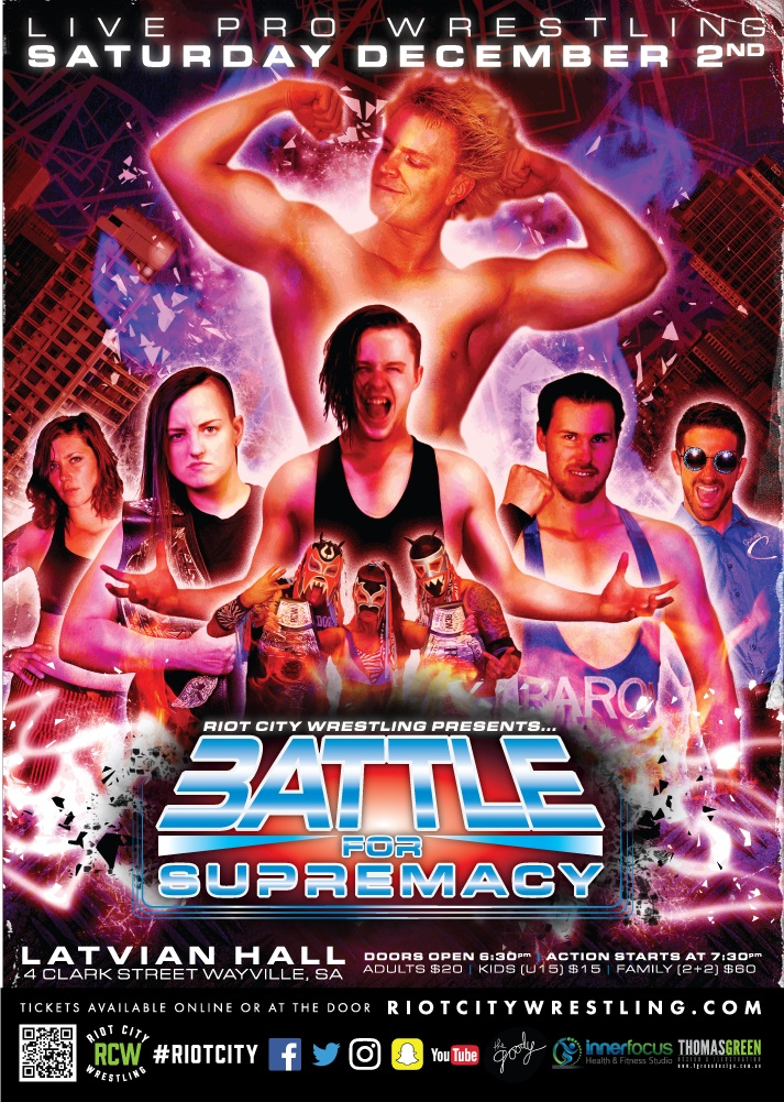 RCW Battle For Supremacy 2017