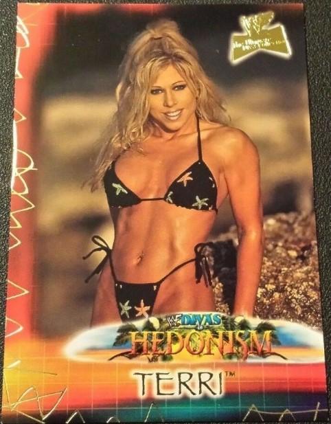 2001 WWF The Ultimate Diva Collection (Fleer) Terri (No.92)